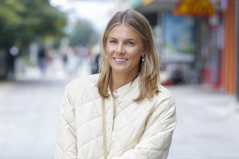 Marta Wierzbicka prezentowała się kwitnąco pod studiem DDTVN /AKPA