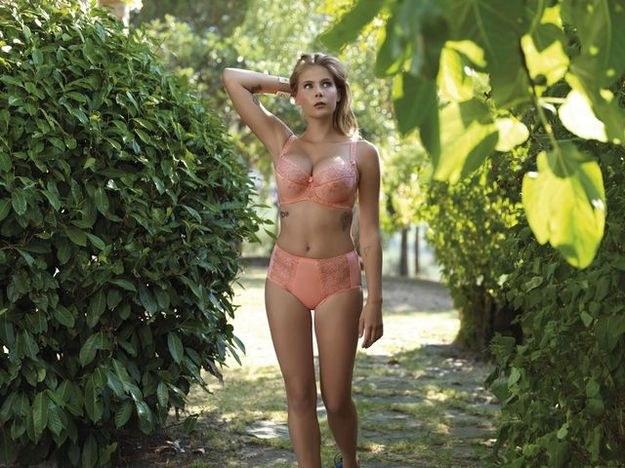 Marta Wierzbicka reklamuje bieliznę /materiały prasowe