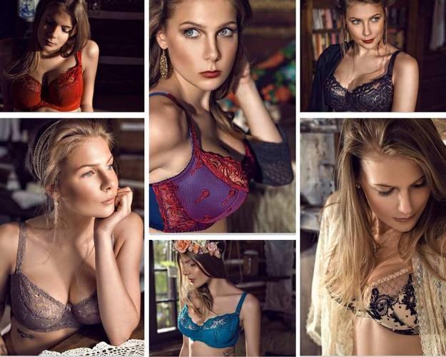 Marta Wierzbicka w reklamie seksownej bielizny. /materiały prasowe