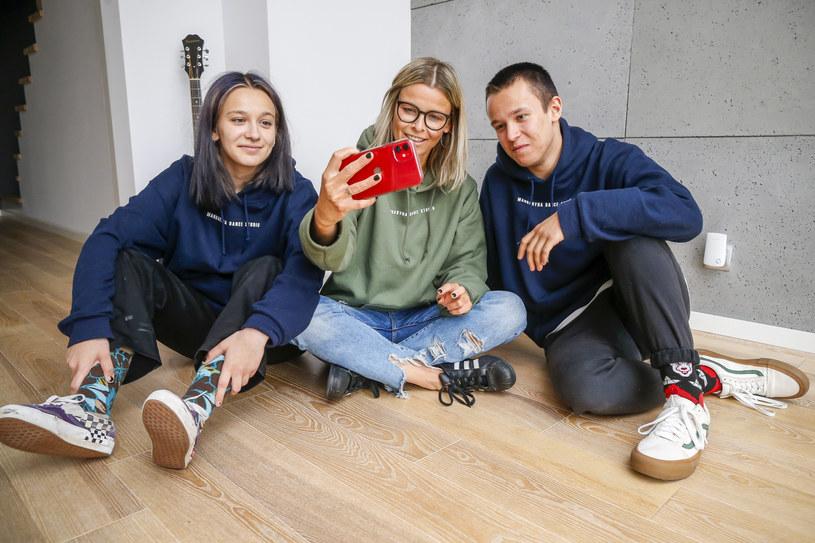 Marta Wiśniewska, Fabienne Wiśniewska i Xavier Wiśniewski /AKPA /AKPA