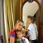 Marta Wiśniewska z dziećmi na rodzinnym piknkiku! Ale wyrosły!