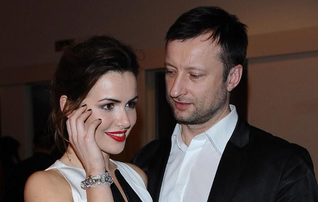 Marta Żmuda Trzebiatowska i Adam Król rozstali się w zeszłym roku /Andras Szilagyi /MWMedia