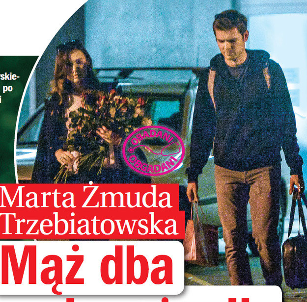 Marta Żmuda-Trzebiatowska i Kamil Kula /Życie na gorąco