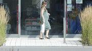 Marta Żmuda-Trzebiatowskiej w zaawansowanej ciąży. Fotoreporterzy spotkali ją na zakupach