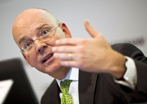 Martin Blessing, prezes Commerzbanku /AFP