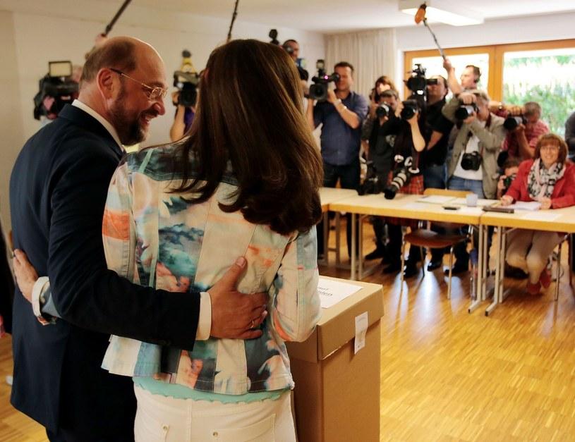 Martin i Inge Schulz /AFP