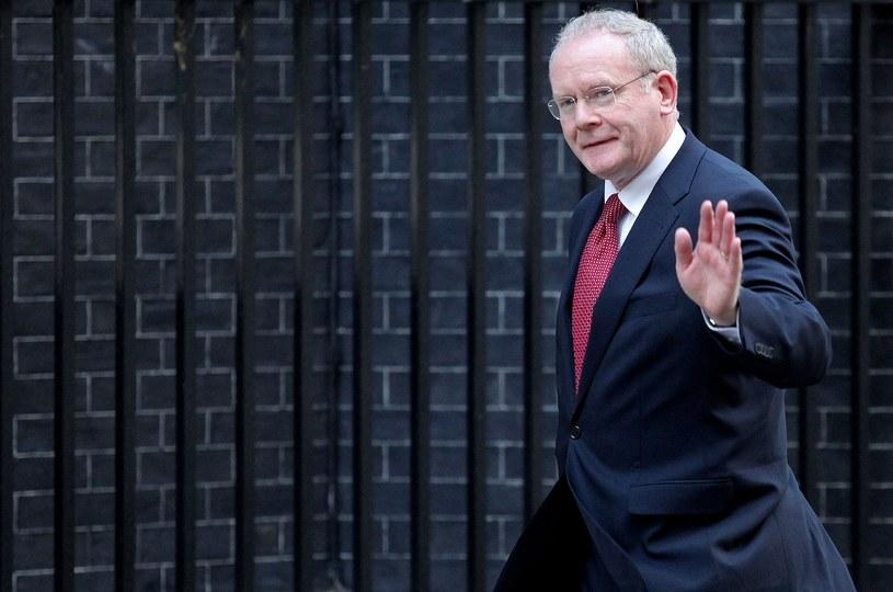 Martin McGuinness /AFP
