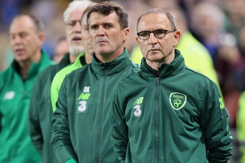 Martin O'Neill i Roy Keane /AFP