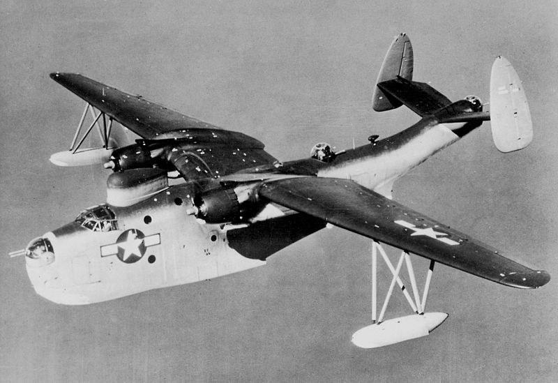 Martin PBM Mariner. Samolot tego typu został stracony w czasie operacji High Jump /materiały prasowe