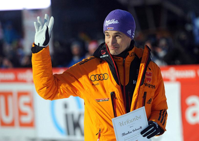 Martin Schmitt to jeden z najlepszych niemieckich skoczków w historii /dpa UWE ZUCCHI /AFP