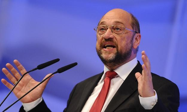 Martin Schultz, Przewodniczący Parlamentu Europejskiego /AFP