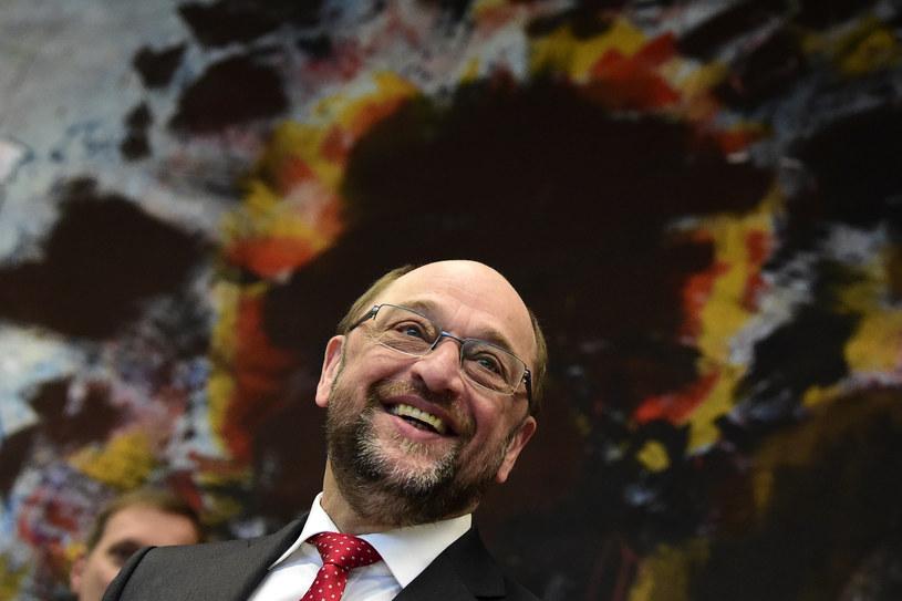 Martin Schultz to kandydat SPD na kanclerza Niemiec /TOBIAS SCHWARZ / AFP /AFP