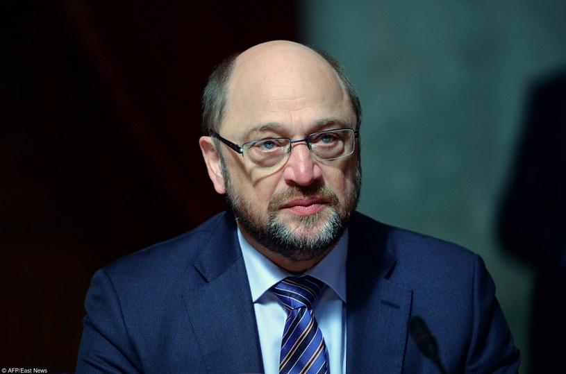 Martin Schulz, fot. AFP /East News