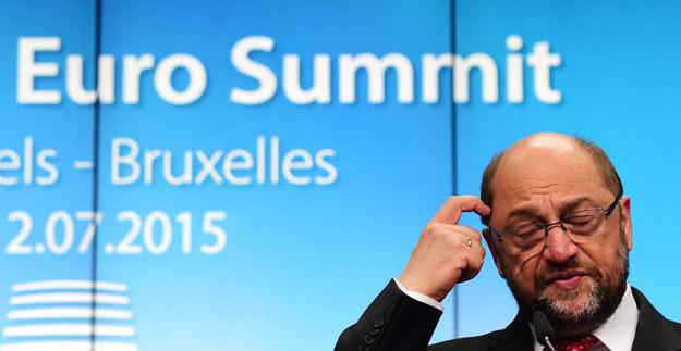 """Martin Schulz: """"Interesy narodowe mają zawsze pierwszeństwo"""" /AFP"""