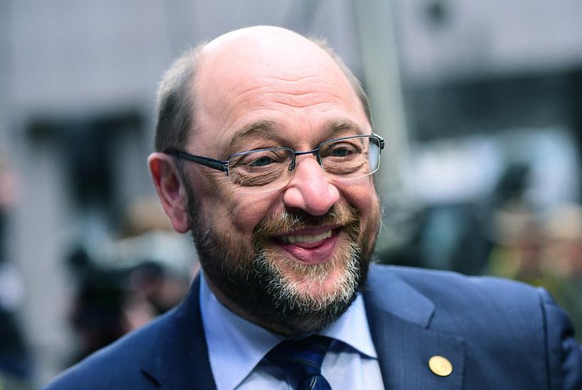 Martin Schulz jest kandydatem socjaldemokratów na kanclerza /AFP