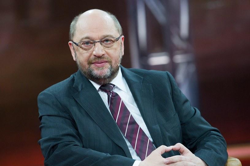Martin Schulz krytykuje słowa Konrada Szymańskiego /PAP/EPA