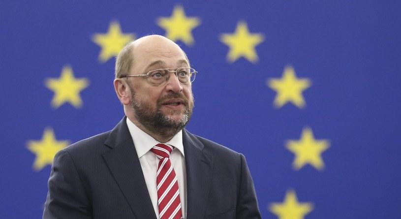 Martin Schulz /OLIVIER HOSLET /PAP/EPA