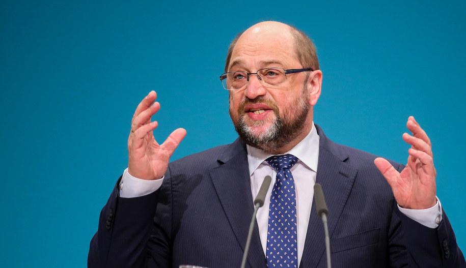Martin Schulz /Kay Nietfeld/DPA /PAP