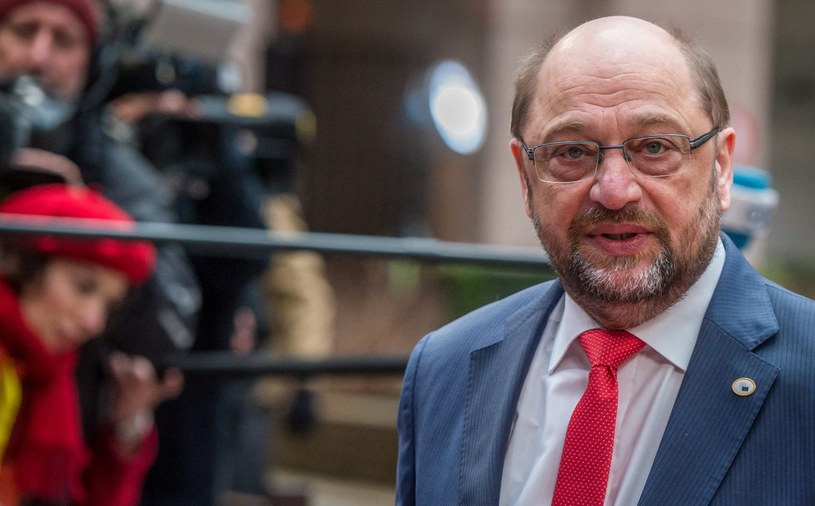 Martin Schulz /STEPHANIE LECOCQ  /PAP/EPA