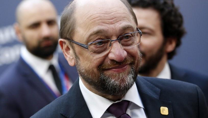 Martin Schulz /JULIEN WARNAND /PAP/EPA