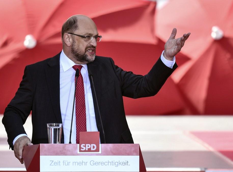 Martin Schulz /CHRISTIAN BRUNA /PAP/EPA