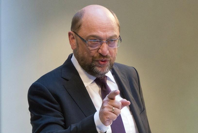 Martin Schulz /OMER MESSINGER  /PAP/EPA