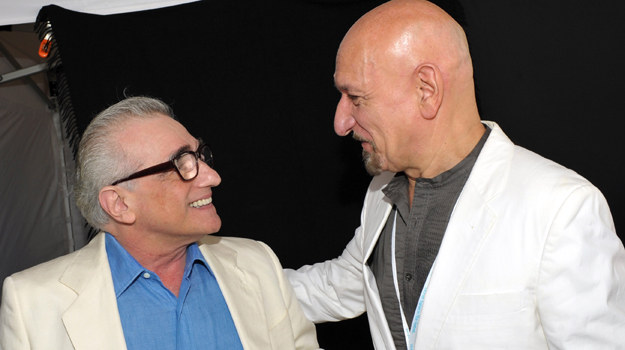 Martin Scorsese i Ben Kingsley / fot. Michael Buckner /Getty Images/Flash Press Media
