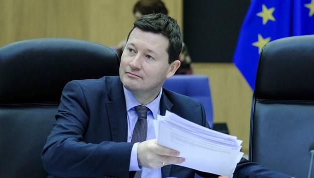 Martin Selmayr /OLIVIER HOSLET /PAP/EPA