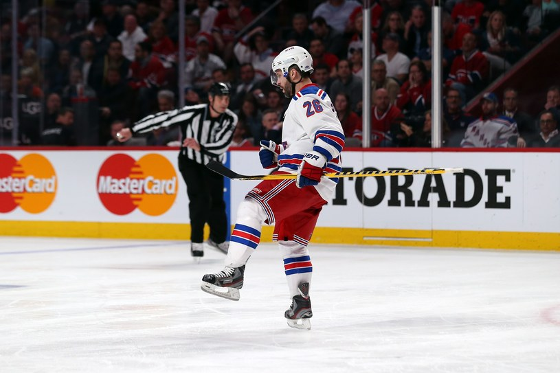 Martin St. Louis z New York Rangers /AFP