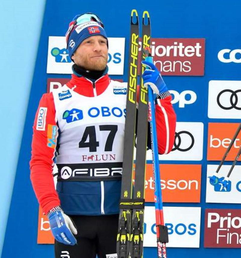 Martin Sundby straci miejsce w reprezentacji Norwegii /AFP