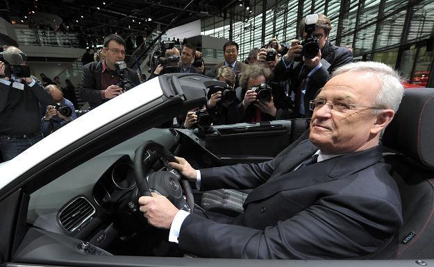 Martin Winterkorn zarobił miliony euro /AFP