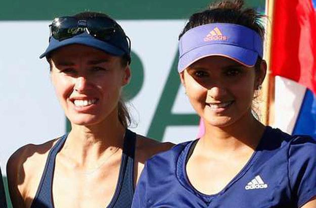Martina Hingis i Sania Mirza /AFP