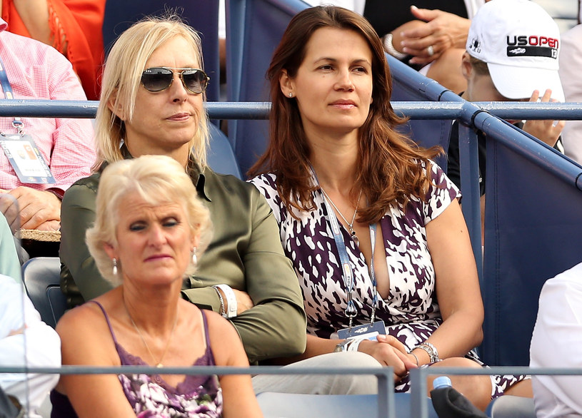 Martina Navratilova i Julia Lemingowa są ze sobą od 6 lat /Matthew Stockman /Getty Images