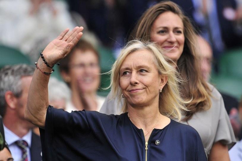 Martina Navratilova /AFP