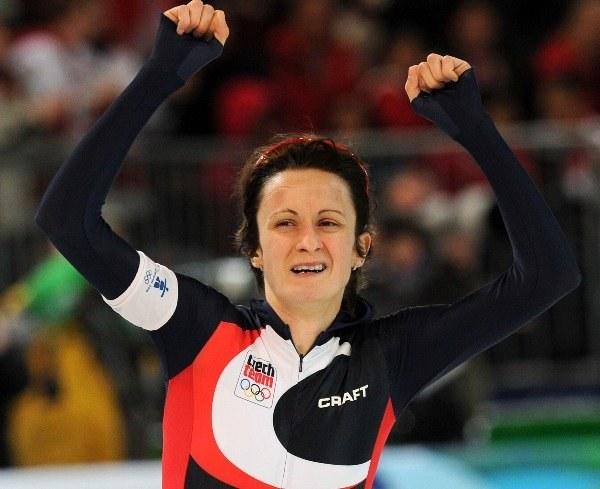 Martina Sablikova zdobyła złoty medal olimpijski /AFP