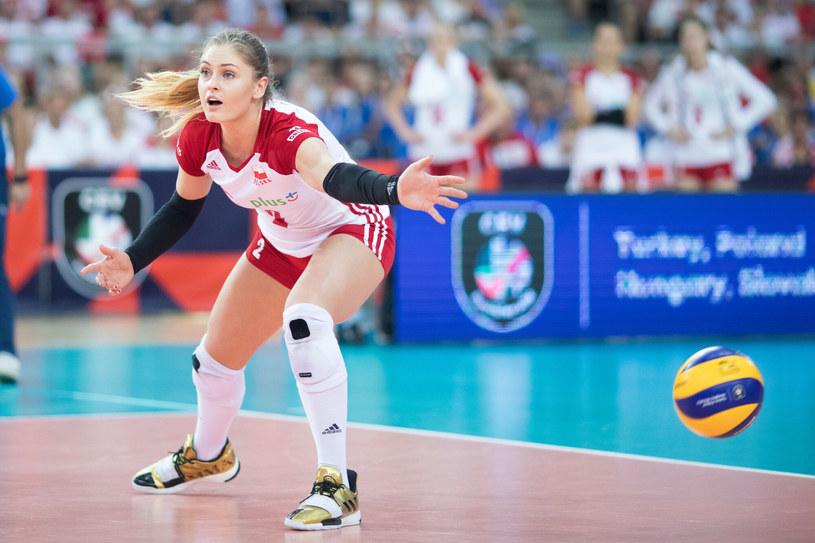 Martyna Grajber może niestety zapomnieć o występie w meczach LN /Andrzej Iwanczuk /Reporter /East News