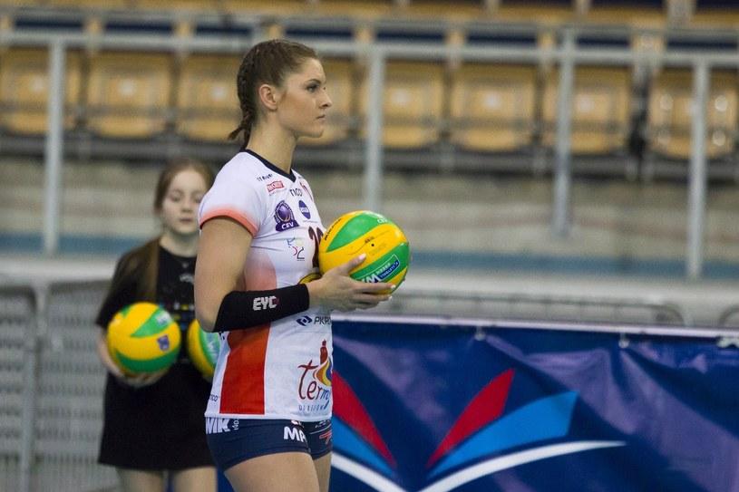 Martyna Grajber z Grotu Budowlanych Łódź /Kacper Kolenda /East News