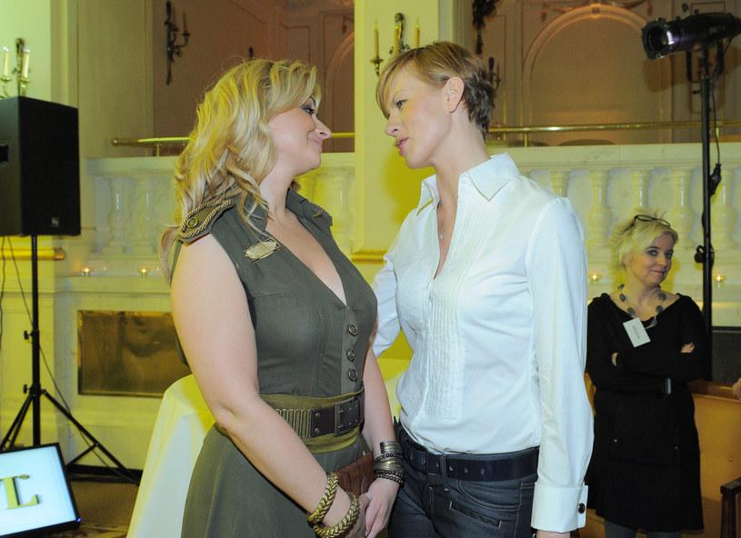 Martyna i Anita nadal są sobie bliskie /- /MWMedia