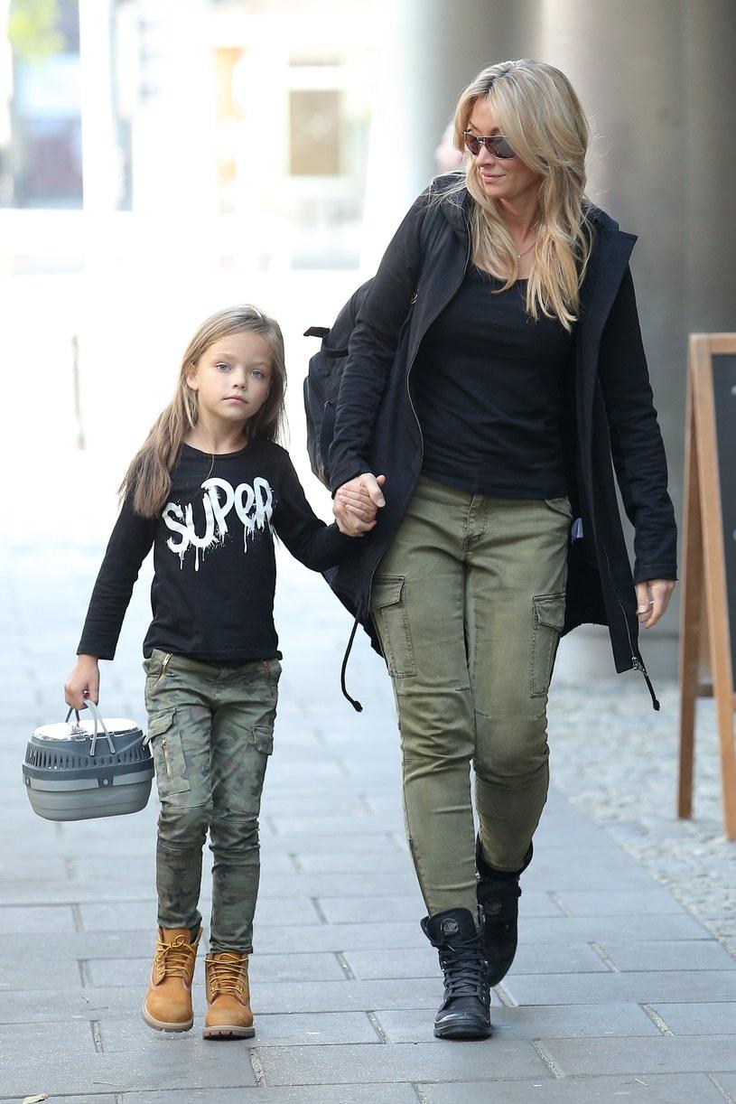 Martyna jest bardzo związana ze swoją córką /- /MWMedia