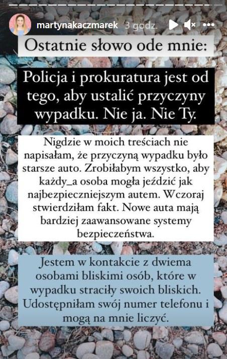 Martyna Kaczmarek https://www.instagram.com/martynakaczmarek/ /Instagram