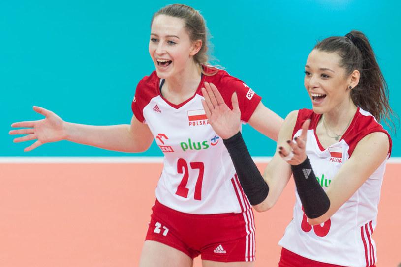 Martyna Łazowska (z lewej) i Zuzanna Górecka /Getty Images