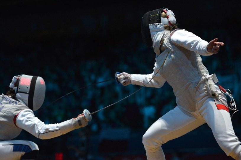 Martyna Synoradzka (z prawej) /AFP