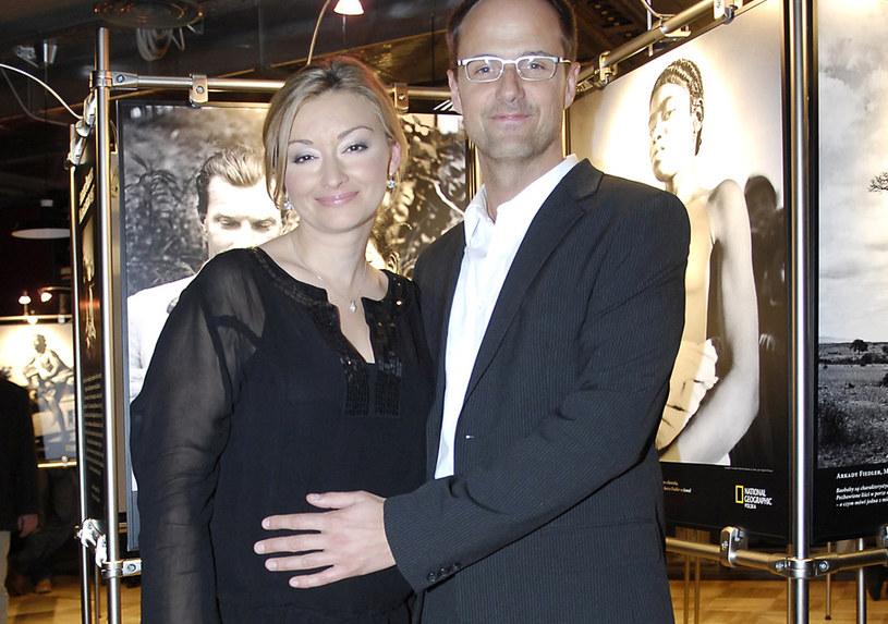 Martyna Wojciechowska i Jerzy Błaszczyk byli ze sobą przez kilka lat /Niemiec /AKPA