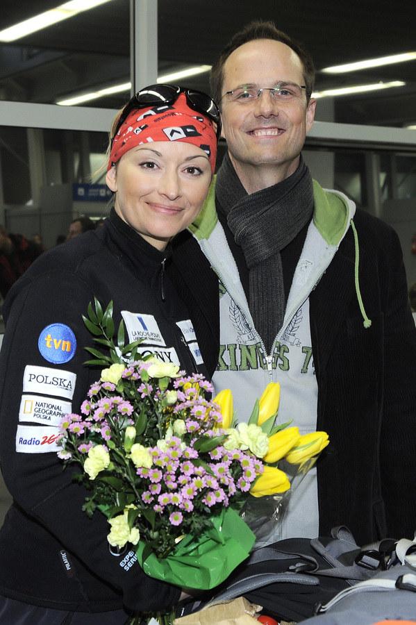 Martyna Wojciechowska i Jerzy Błaszczyk /Niemiec /AKPA