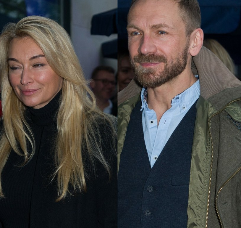 Martyna Wojciechowska i Przemek Kossakowski /Artur Zawadzki /Reporter