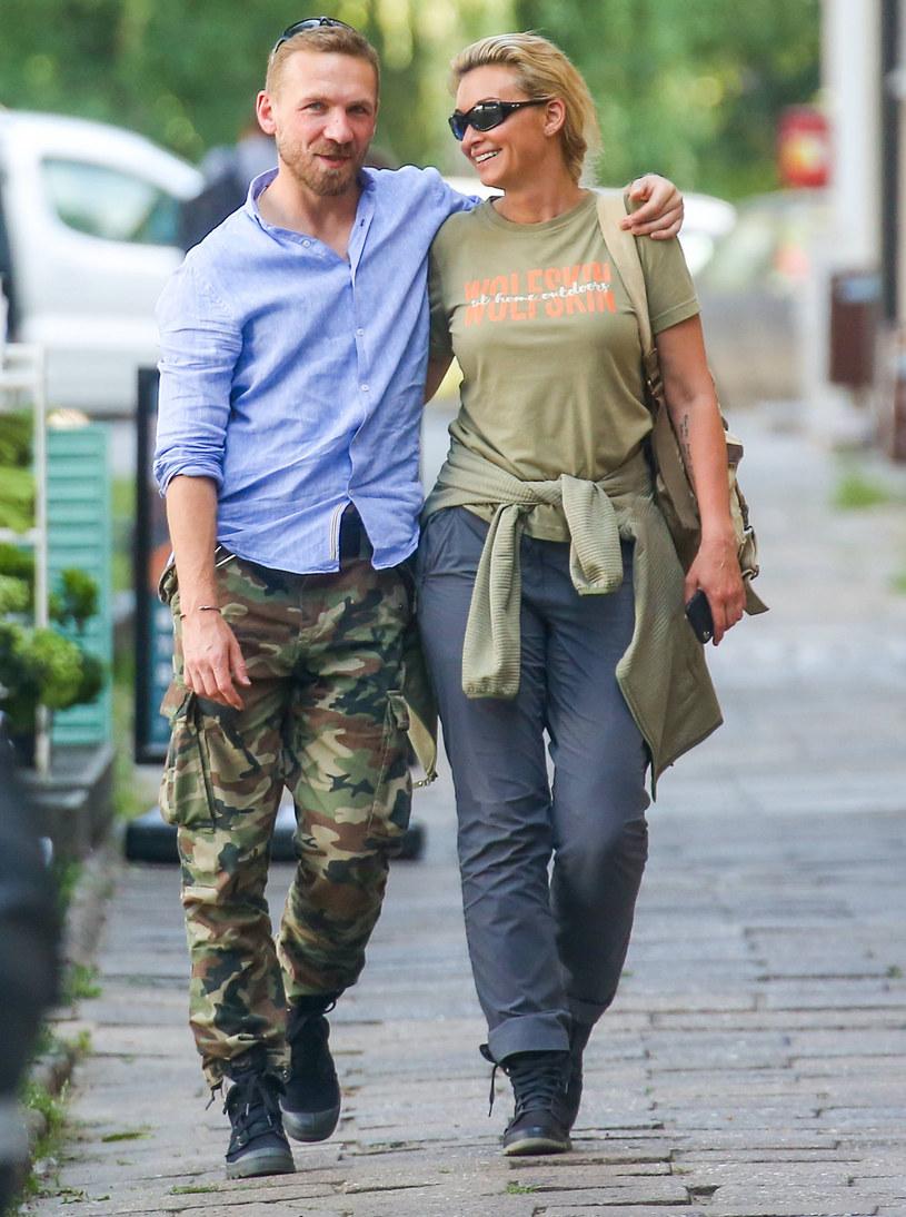 Martyna Wojciechowska I Przemek Kossakowski świętują Z