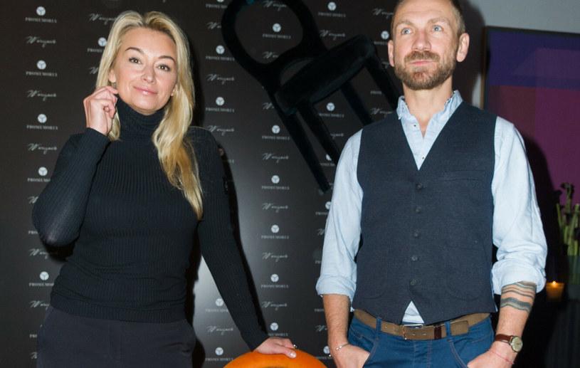 Martyna Wojciechowska i Przemysław Kossakowski /Artur Zawadzki /East News