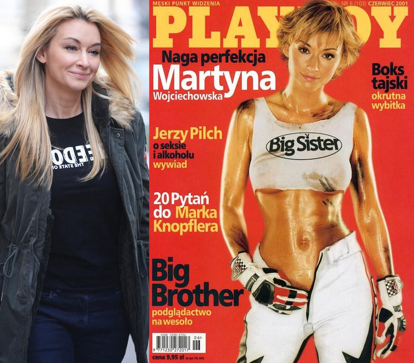 Martyna Wojciechowska jest dumna ze swojej rozbieranej sesji /Piotr Andrzejczak /MWMedia