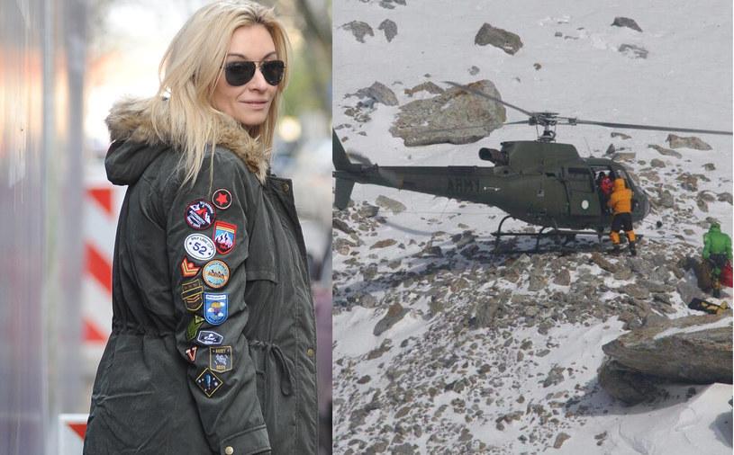 Martyna Wojciechowska o Nanga Parbat /Piotr Andrzejczak/East News /MWMedia