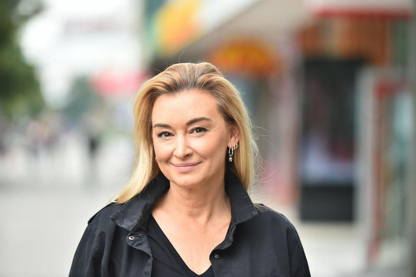 """Martyna Wojciechowska od lat kojarzona jest ze swoim imieniem """"Martyna"""", chociaż dopiero niedawno postanowiła oficjalnie je zmienić. Wcześniej nazywała się inaczej /Artur Zawadzki /Reporter"""